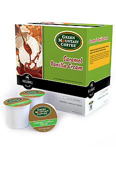 Keurig Green Mountain Caramel Vanilla Cream K-Cup 18 Count
