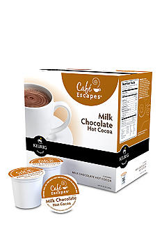 Keurig Cafe Escapes Milk Chocolate Hot Cocoa K-Cup 16 Count