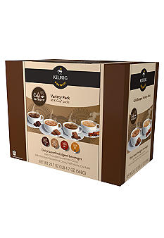 Keurig Cafe Escapes Variety K-Cup Pack 40 Count