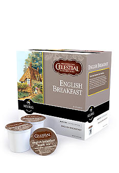 Keurig Celestial Seasonings English Breakfast Tea K-Cup 18 Count