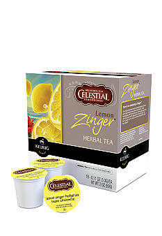 Keurig Celestial Seasonings Lemon Zinger Tea K-Cup 18 Count