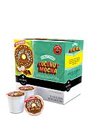 Keurig Coffee People Donut Shop Coconut Mocha K-Cup 18 Count