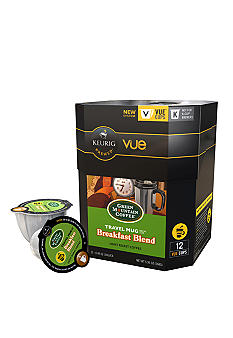 Keurig Green Mountain Breakfast Blend Travel Mug Vue Pack 12 Count