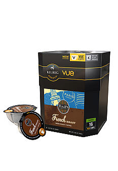 Keurig Tully's French Roast Vue Pack 16 Count