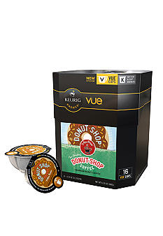 Keurig Coffee People Donut Shop Vue Pack 16 Count