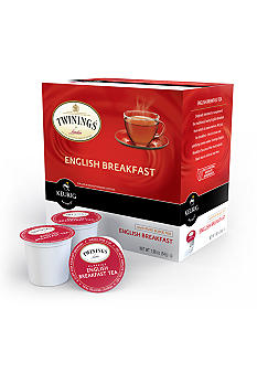 Keurig Twinings English Breakfast Tea K-Cup 18 Count