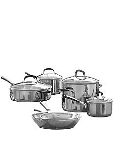Calphalon Simply Stainless 10-Piece Cookware Set