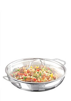 Calphalon Tri-Ply Stainless Steel 12-in. Everyday Pan