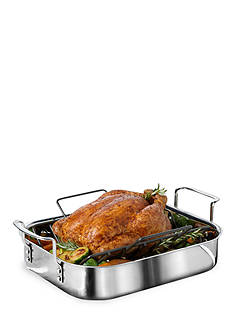Calphalon Tri-Ply Stainless Steel 14-in. Roaster