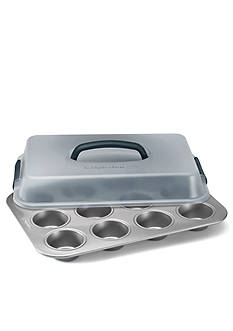 Calphalon Gourmet Nonstick 12-Cup Covered Cupcake Pan
