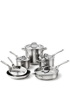 Calphalon AccuCore Stainless Steel 10 Piece Set