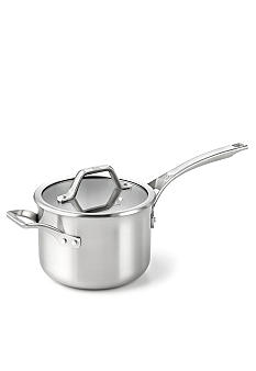 Calphalon AccuCore Stainless Steel 3 qt. Sauce Pan & Cover
