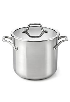 Calphalon AccuCore Stainless Steel 8 qt. Stock Pot & Cover
