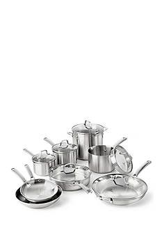 Calphalon 14-Piece Stainless Steel Cookware Set