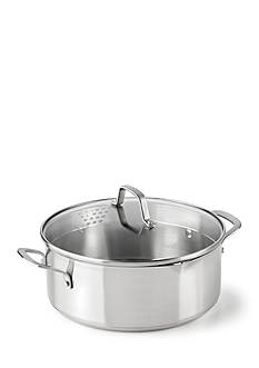 Calphalon Classic Stainless Steel 5-Quart Covered Dutch Oven