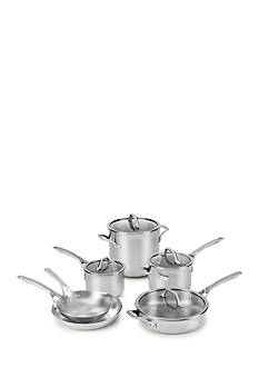 Calphalon Signature™ 10-Piece Stainless Steel Cookware Set