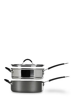 Tabletops Unlimited 3-piece Stax Living 5-qt. Non-Stick Multi-Funtion Cooking System - Online Only