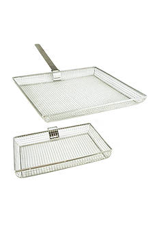 Cooks Tools™ Mesh Grilling Basket Set of 2