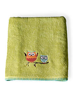 Saturday Knight HOOTY BATH TOWEL