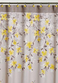 Saturday Knight Spring Garden Shower Curtain