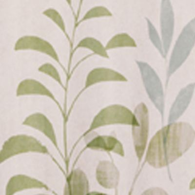 Coastal Bathroom: Neutral Saturday Knight FLUTTERING SHOWER CURTAIN