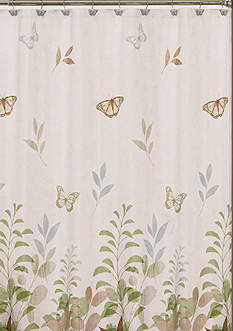 Saturday Knight FLUTTERING SHOWER CURTAIN