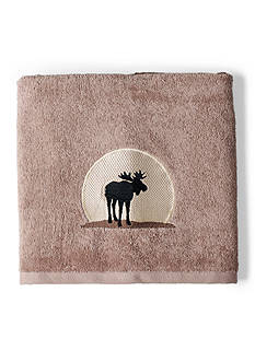 Saturday Knight SILHOUETTE WILDLIFE BATH TOWEL