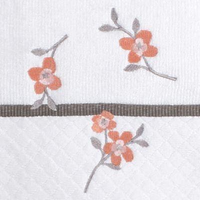Decorative Towels on Sale: Ivory Saturday Knight CORAL GARDEN BATH TWL