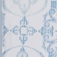 Shower Curtains: Blue Saturday Knight ZAMORA FABRIC SHOWER CURTAIN