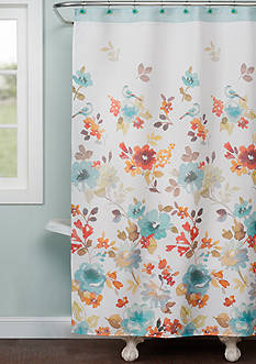 Saturday Knight Nature's Palette Shower Curtain