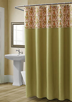 Croscill Pina Colada Shower Curtain