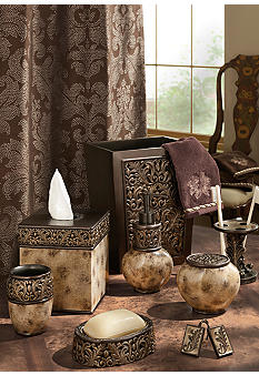 Croscill Argosy Mocha Bath Accessories Collection