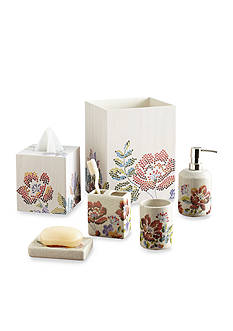 Croscill Mosaic Floral Bath Accessories
