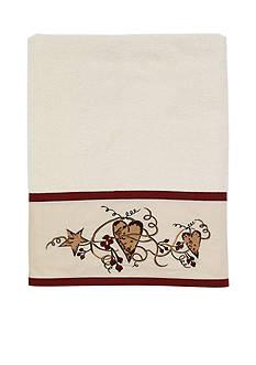 Avanti Hearts & Stars Ivory Bath Towel