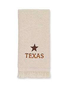 Avanti Lone Star State Fingertip Towel