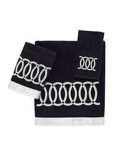 Avanti Alexa Black Hand Towel