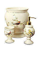 Gilded Birds Lotion Dispenser