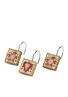 Avanti Hearts & Stars Multi-color Shower Hooks