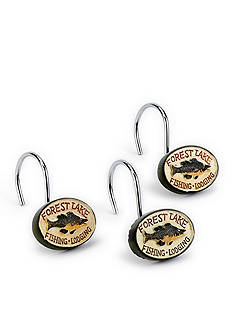 Avanti Fishing Shower Curtain Hooks