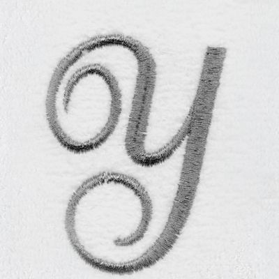 Decorative Bath Towels: Y Avanti MONOGRAM TIP L