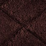 Bath Mats: Java Avanti Splendor Solid Color Black Rug 21x34