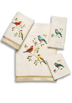 Avanti Gilded Birds Collection Bath Towels
