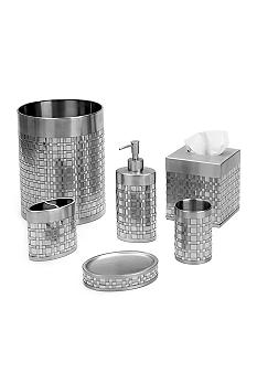 Avanti Basketweave Collection Bath Accessories