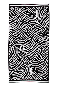 Home Accents Jacquard Zebra Dot Beach Towel