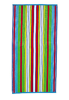 Home Accents Jacquard Stunner Stripe Beach Towel