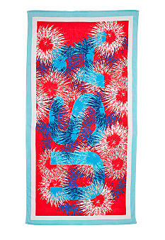 Home Accents Fireworks Print Beach Towel