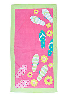 Home Accents Flip Flops Beach Towel