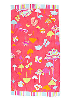 Home Accents Umbrella Fun Beach Towel
