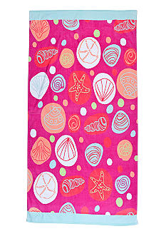 Home Accents Shells Beach Towel