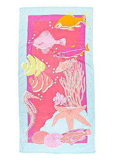 Home Accents Sea Life Beach Towel